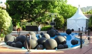 Nettoyage d'un tour de piscine
